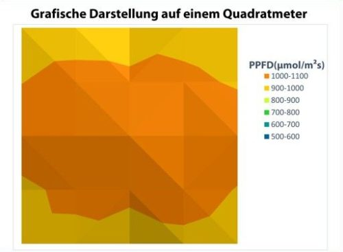PPFD Messwerte